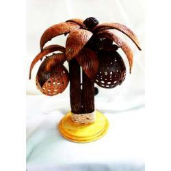 Coconut Tree Lamp โคมไฟต้นมะพร้าวคู่