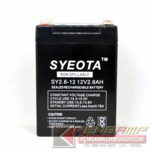SYEOTA 12V 2.6AH
