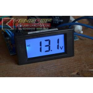 LCD digital panel meter 7.5-30Vdc