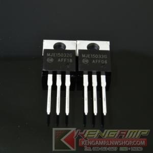 MJE15032G + MJE15033G drivers in audio amplifiers