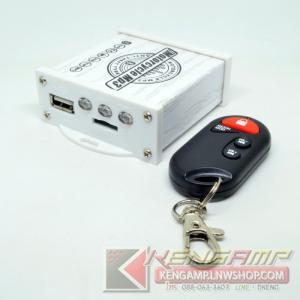 MOTORCYCLE MP3 Player 2*10W + ชุดป้องกันขโมยและรีโมท