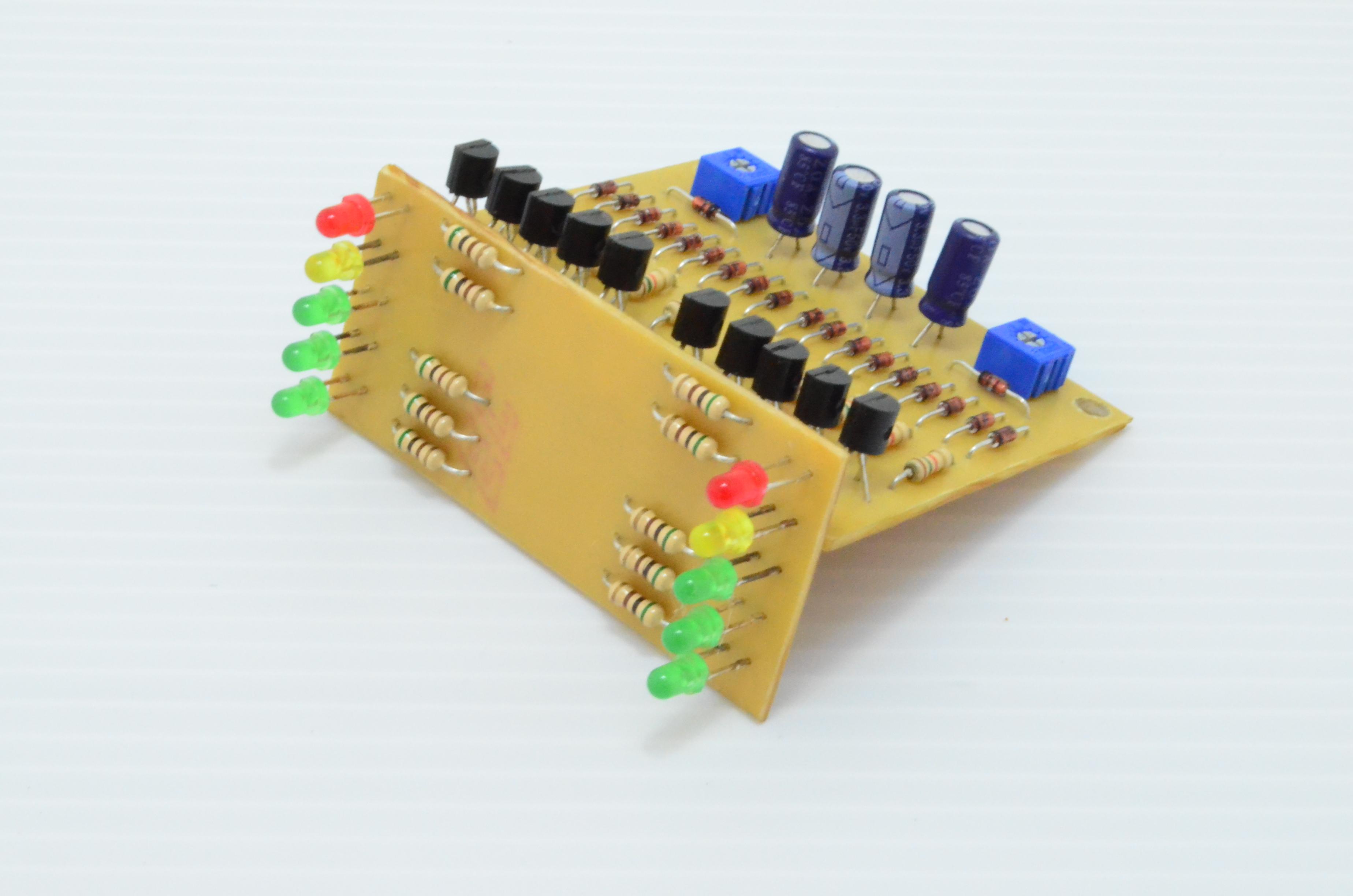 VU5X2 ชุดไฟกระพริบตามเสียง LED 10ดวง