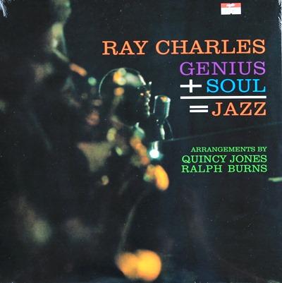 Ray Charles - Genius + Soul = Jazz 1Lp N.