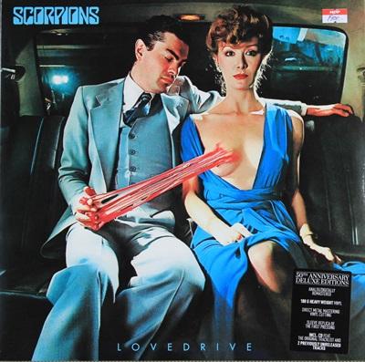 SCORPIONS - LOVE DRIVE 1LP N.