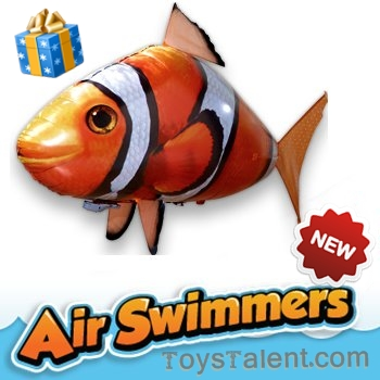 Air Swimmer - Flying Nemo Fish ปลานีโม่บอลลูน พร้อมรีโมทไม่รวมก๊าซฮีเลียม