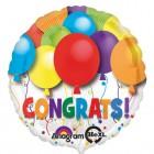 ลูกโป่งฟลอย์นำเข้า Bold Congratulations Balloons / Item No. AG-26893 แบรนด์ Anagram ของแท้