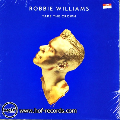 robbie williams - take to crown 2lp new