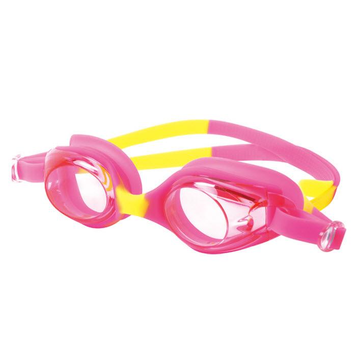 พร้อมส่ง แว่นตาว่ายน้ำเด็ก สีสวยสดใส