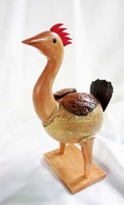 Coconut Shell Chicken Savings (ออมสินกะลามะพร้าวแม่ไก่)