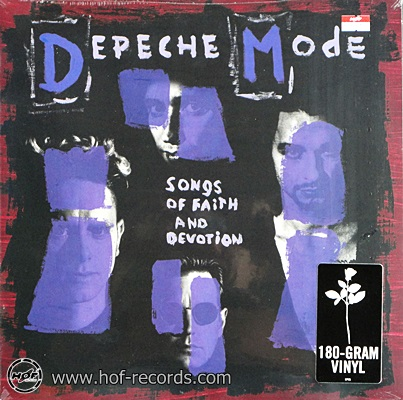 Depeche Mode - Songs Of Faith And Devotion 1lp NEW