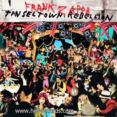 Frank Zappa - Tinsel Town Rebellion 1981 2lp