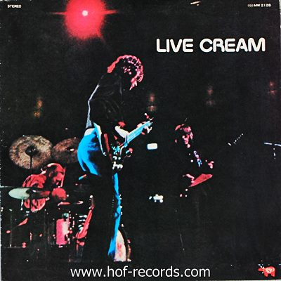 Cream - Live Cream Volume I 1lp