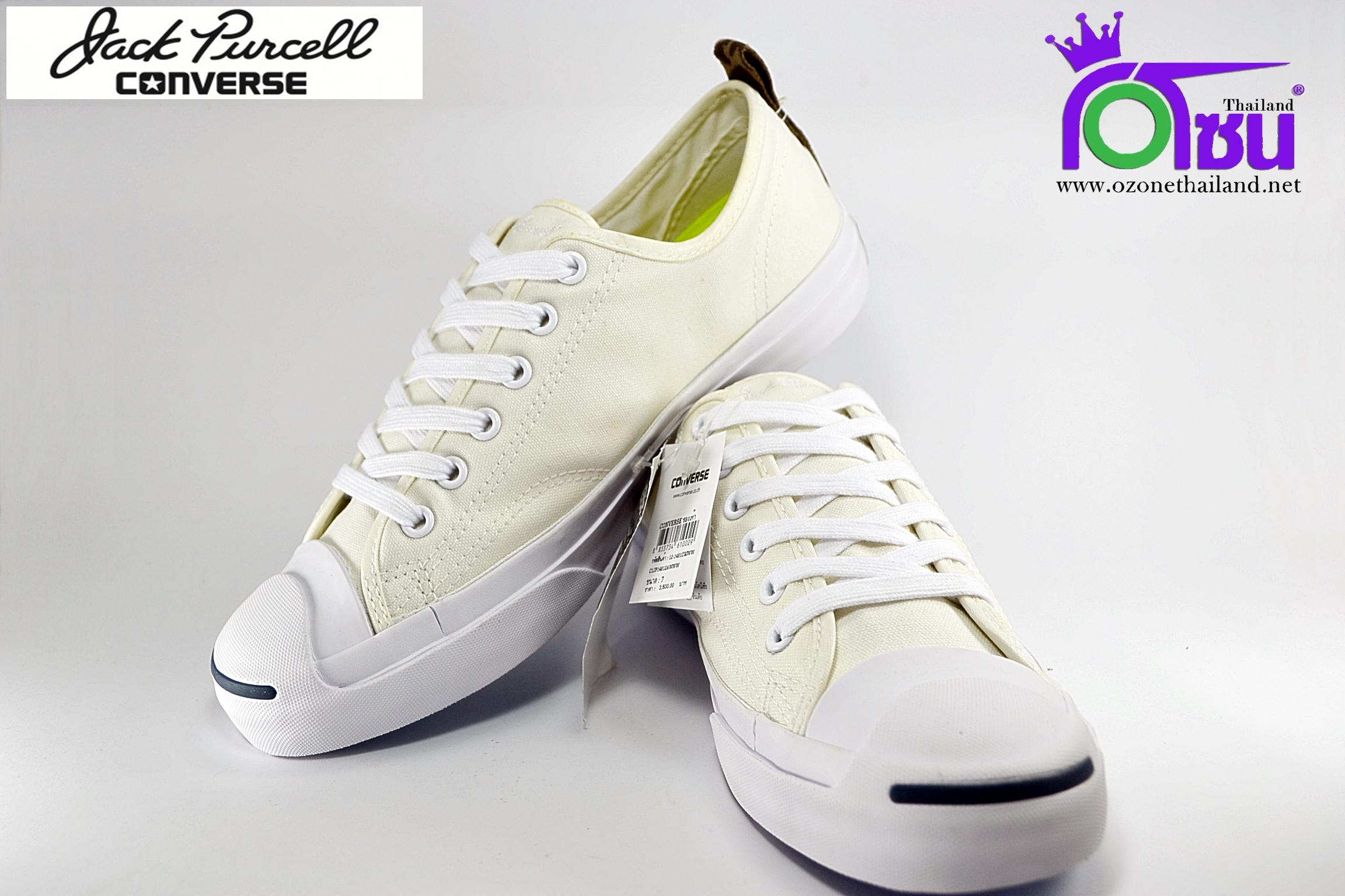 รองเท้าผ้าใบ CONVERSE JACK PURCELL JACK OX WHITE เบอร์ 7,8