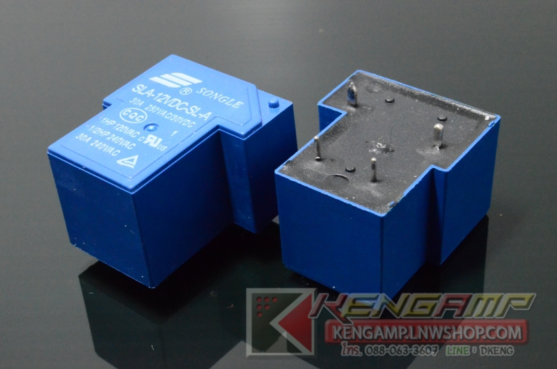 Songle Relay 12V/30A (SONGLE SLA-12VDC-SL-A)