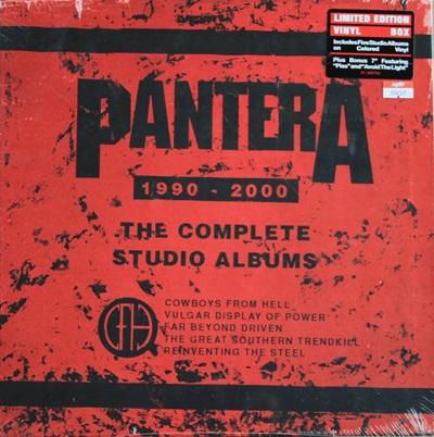 Pantera - The Complete Studio Albums 1990 - 2000 BOXSET 5 Album 5 Lp + 1 Ep N.