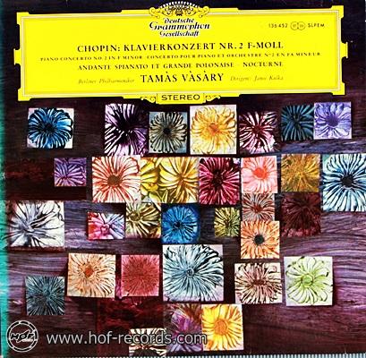 Tamas Vasary - Chopin: Klavierkonzert NR.2 F-Moll 1lp