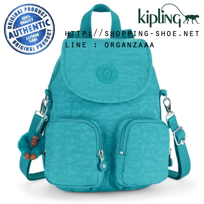 Kipling Firefly Up Backpack - Turquoise Dream (Belgium)