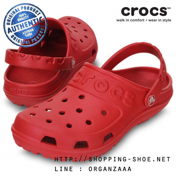 M8/W10 (27 cm.) : Crocs Hilo Clog - Pepper ของแท้ Outlet ไทยและอเมริกา