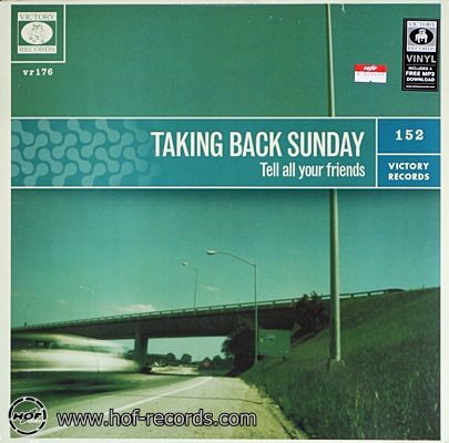 Taking Back Sunday - Tell all your friends 1lp NEW