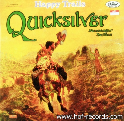 Quicksilver - Happy Trails 1Lp N.