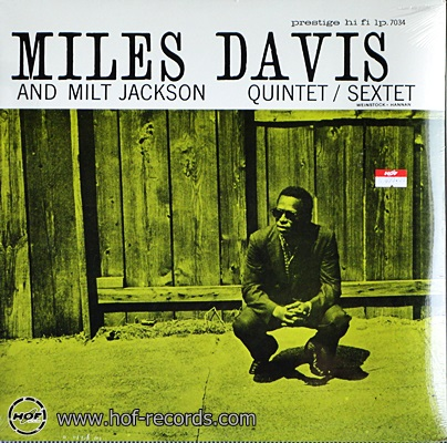 Miles Davis - And Milt Jackson Quintet / Sextet 1lp NEW