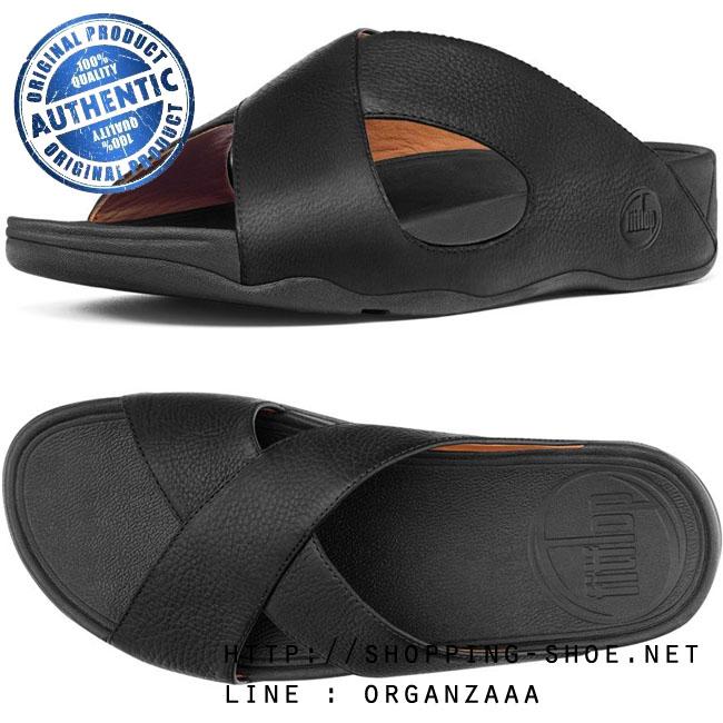 Fitflop Men's Xosa Black ของแท้ นำเข้าจาก USA และ UK