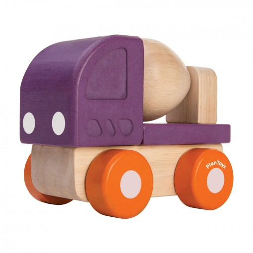 ของเล่นไม้ ของเล่นเด็ก ของเล่นเสริมพัฒนาการ Mini Cement Truck (ส่งฟรี)