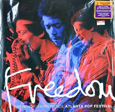 Jimi Hendrix - Freedom Experience Atlanta Pop Festival 2Lp N.