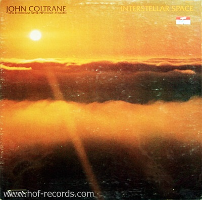 John Coltrane - Interstellar Space 1Lp
