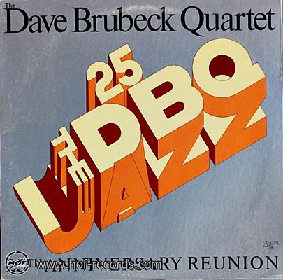 Dave Brubeck Quartet - 25 th Anniversary Reunion 1976 1lp