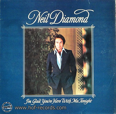 Neil Diamond - I'm Glad You're Here Whit Me Tonight 1977 1lp