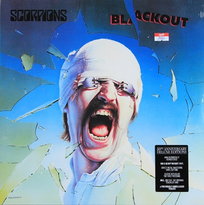 SCORPIONS - BLACKOUT 1LP N.