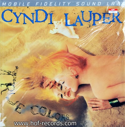 Cyndi Lauper - True Colcors 1lp N.