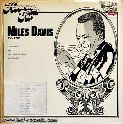 Miles Davis - Vol.2 1EP