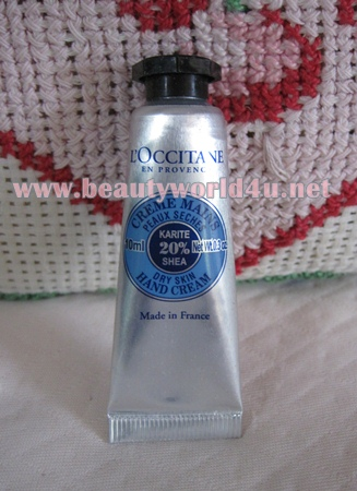 L'occitane Shea Hand Cream 10 ml. (ขนาดทดลอง)