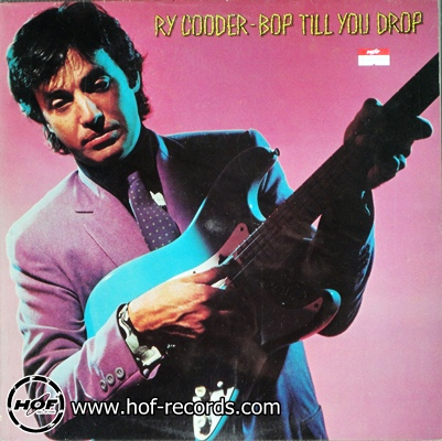 ry cooder - bop till you drop 1lp