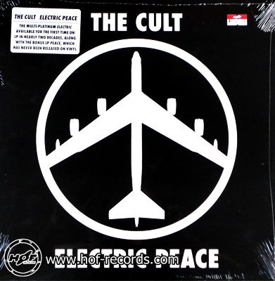 the Cult - Electric Peace 2lp new