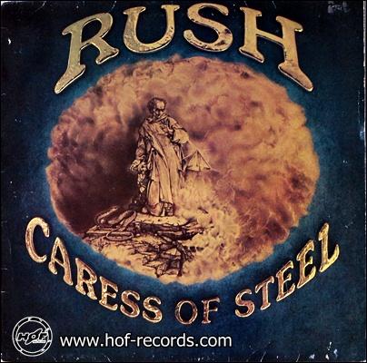 Rush - Caress Of Steel 1975 1lp
