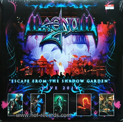 Magnum - Escape From The Shadow Garden Live 2014 2Lp N.