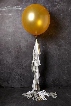 """ลูกโป่งกลมจัมโบ้ไซส์ใหญ่ 30""""Latex Balloon RB Gold สีทอง/ Item No.TQ-38422 แบรนด์ Qualatex"""
