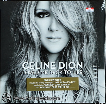 Celine Dion - Loved Me Back To Life 1lp NEW