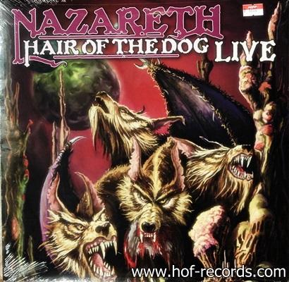 Nazareth - Hair Of The Dog Live 1Lp N.