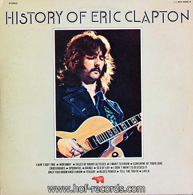Eric Clapton - History Of Eric Clapton 2lp