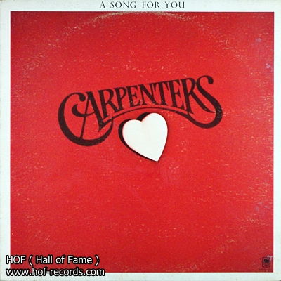 Carpenters - A song for you 1 Lp