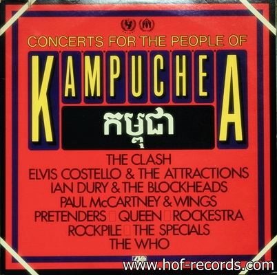 Concerts For The People Of Kampuchea 1981 2Lp