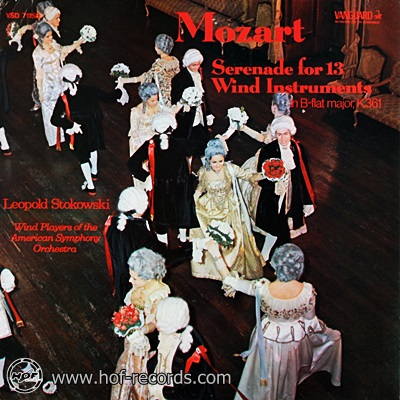 Leopold Stokowski American Symphony Orchestra - Mozart Serenade For 13