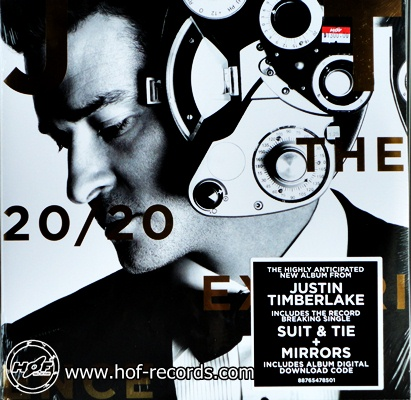 Justin Timberlake - The 20/20 Experience 2lp NEW