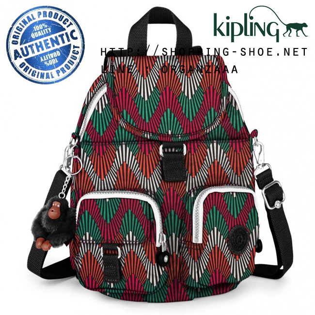 Kipling Firefly N Backpack - Tropic Palm CT (Belgium)