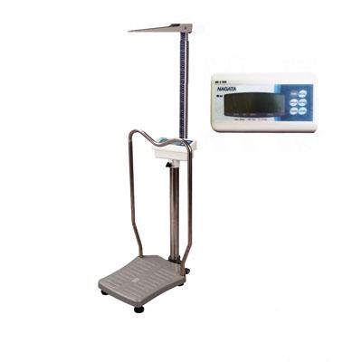 เคริ่องชั่งน้ำหนักคน เครื่องชั่งน้ำหนักบุคคล พร้อมวัดส่วนสูง และคำนวณค่า BMI ชั่งได้ 200kg ความละเอียด 100g วัดส่วนสูงได้200 cm BW-1116MH