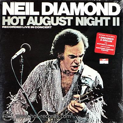 Neil Diamond - Hot August Night II 1987 2lp NEW